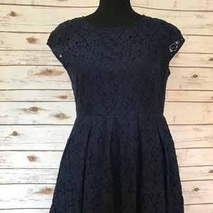 MADEWELL LACEBLOOM FLORAL EYELET DRESS SIZE 10